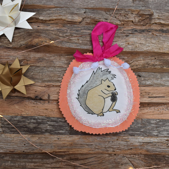 Animal Club Ornament:  Squirrel