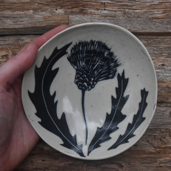 Thistle Shallow Bowl #1