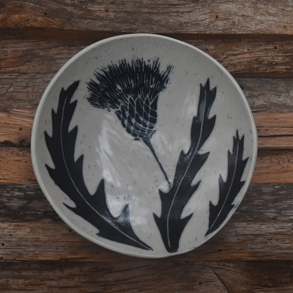 Thistle Shallow Bowl #2