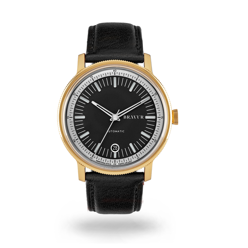 Sample - BW003 Gold PVD Jet black