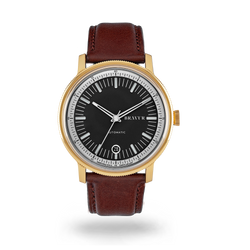 BW003 Gold PVD - Black dial