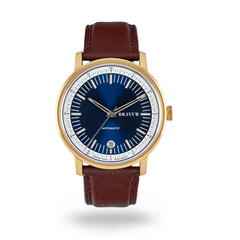 Sample - BW003 Gold PVD Midnight Blue
