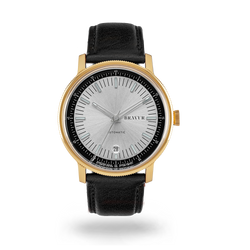 BW003 Gold PVD - Silver dial