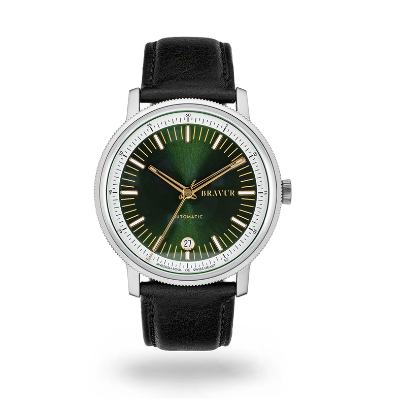BW003 - Bottle green dial