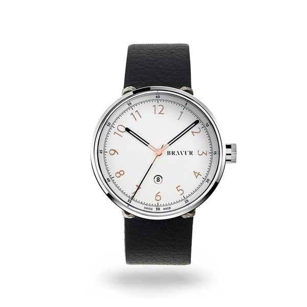 Sample - BW102S silver white dial