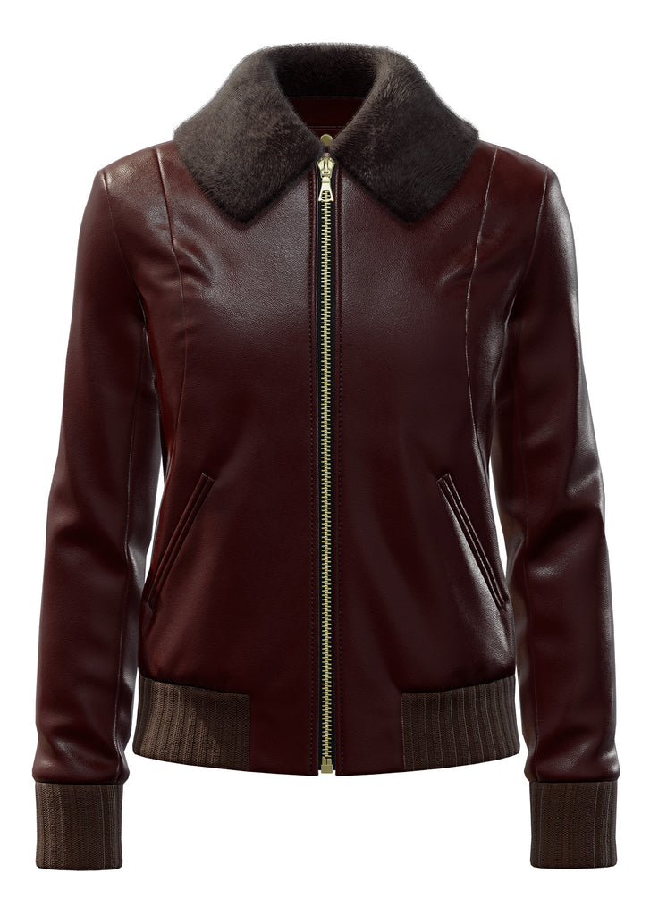 "Classic Lambskin in Dark Brown <a class=""price-for-collection"">$1450</a>"