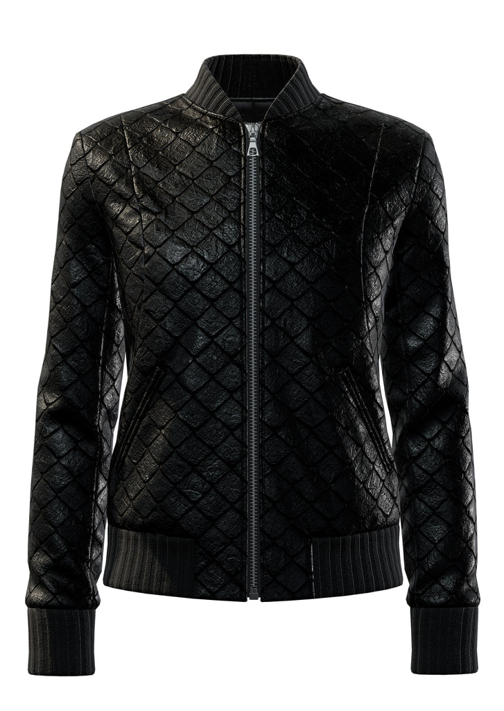 "Exotic Fishscale in All Black <a class=""price-for-collection"">$3600</a>"