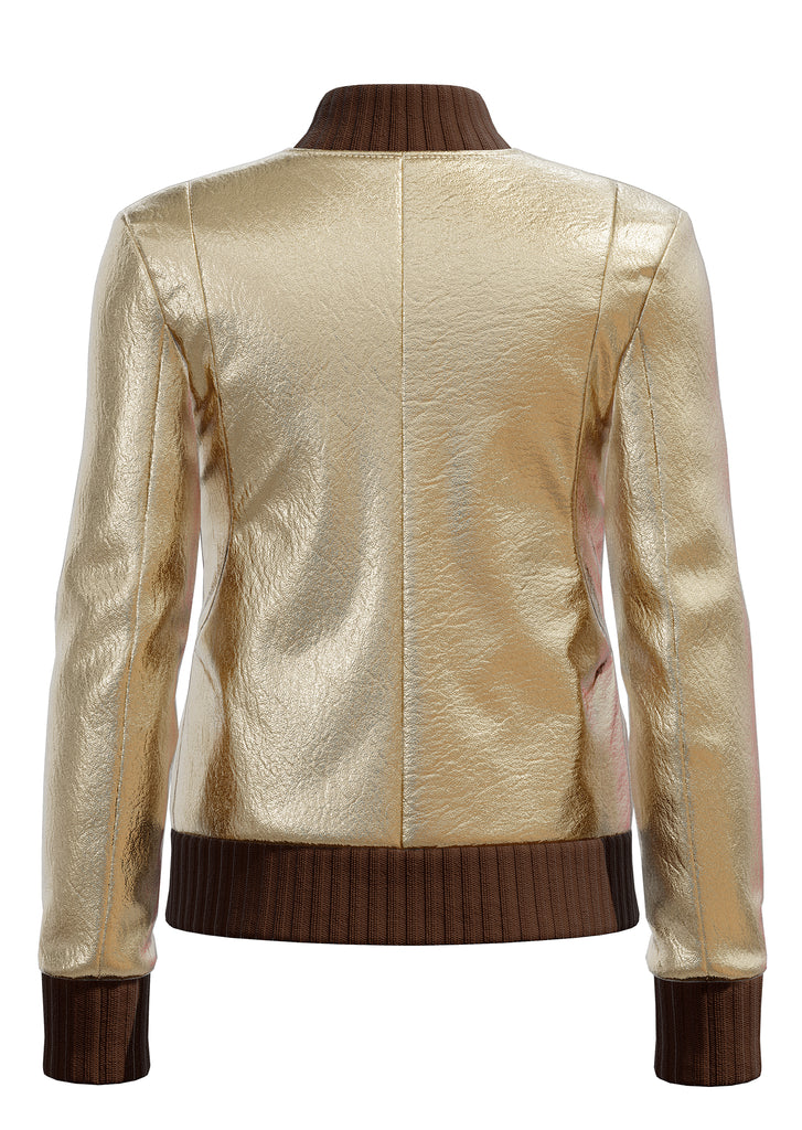 "Metallic Lambskin in Gold <a class=""price-for-collection"">$1300</a>"
