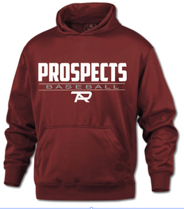 BAW Cardinal PTA Baseball Hoodie - Adult and Youth Sizes