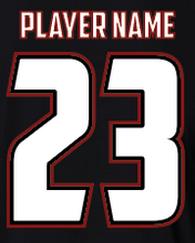 Load image into Gallery viewer, Black S2N Custom T-Shirt with Name and Number