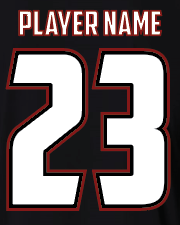 Black S2N Custom T-Shirt with Name and Number