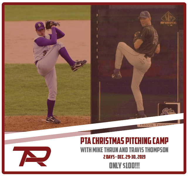 PTA Christmas Pitching Camp - 2 Day Camp - Dec. 29-30 - $100