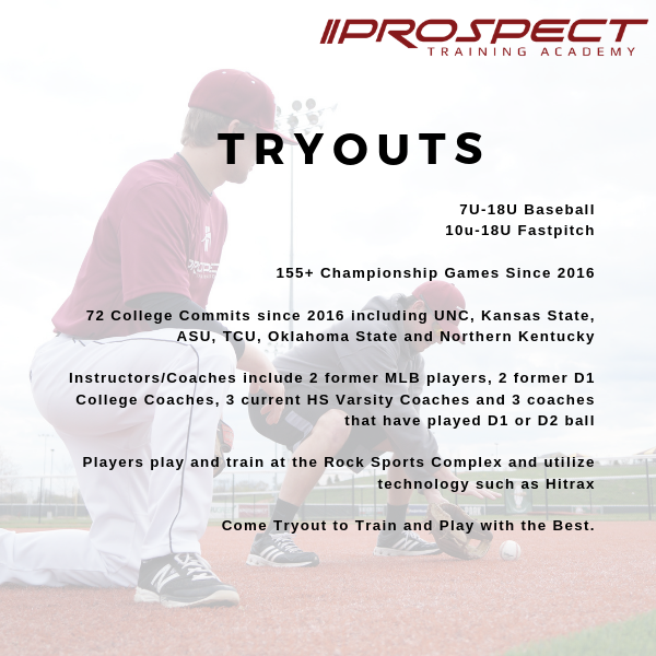 TRYOUTS - Saturday, Feb. 15th 7:30p-9:00p