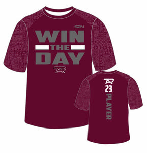 "Cardinal S2N PTA ""Win The Day"" T-Shirt with Name and Number"