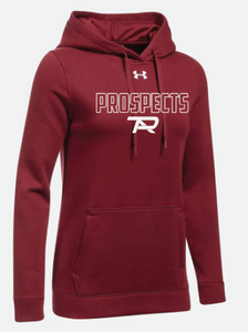 UA Ladies Hustle Fleece Hoodie