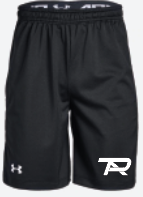 UA Youth Raid Pocketed Player Shorts
