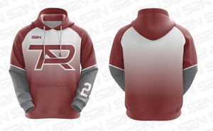 2021 S2N Sublimated PTA Fade Hoodie with Player Number