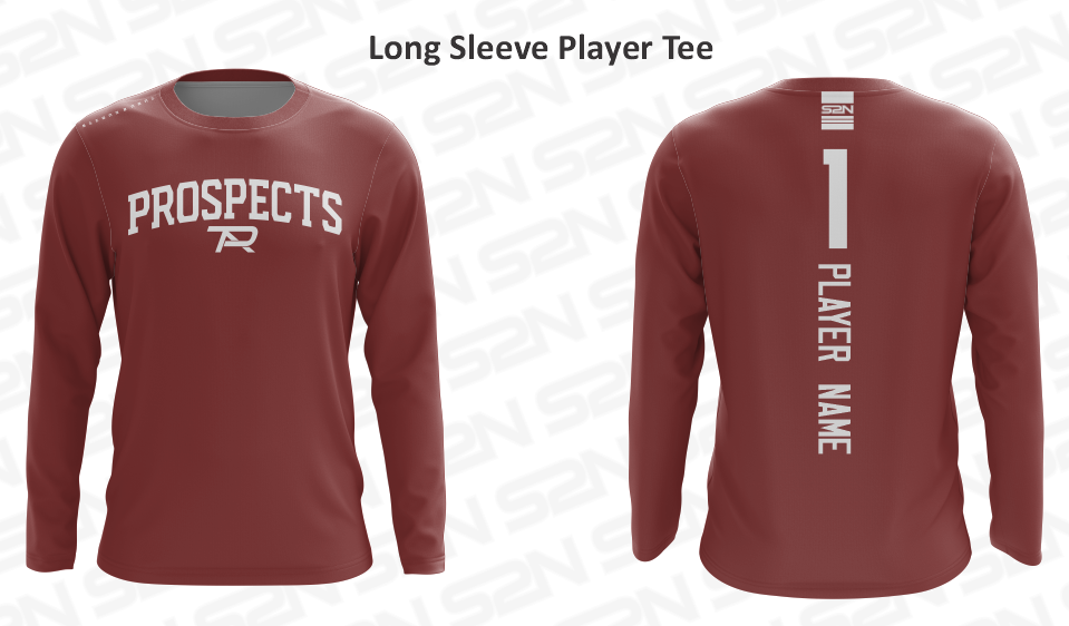 2021 S2N Cardinal Custom Player Long Sleeve