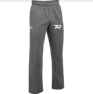 2021 Under Armour Hustle Fleece Pants - Carbon