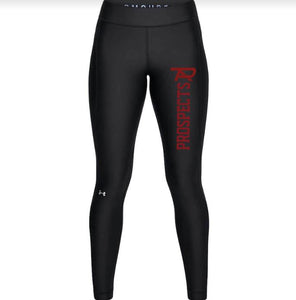 2021 Under Armour Heat Gear Ladies Leggings - Black
