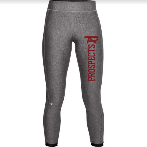 2021 Under Armour Heat Gear Ladies Leggings - Carbon