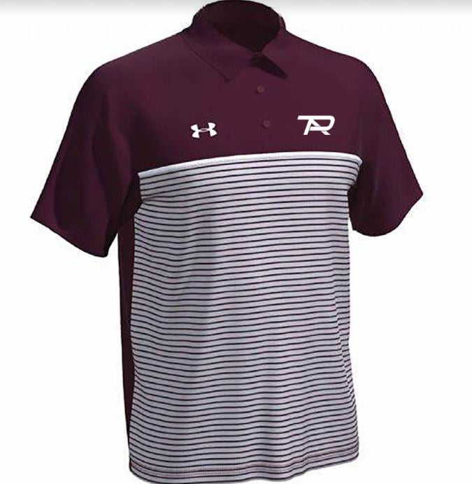2021 Under Armour Stripe Mix Up Polo