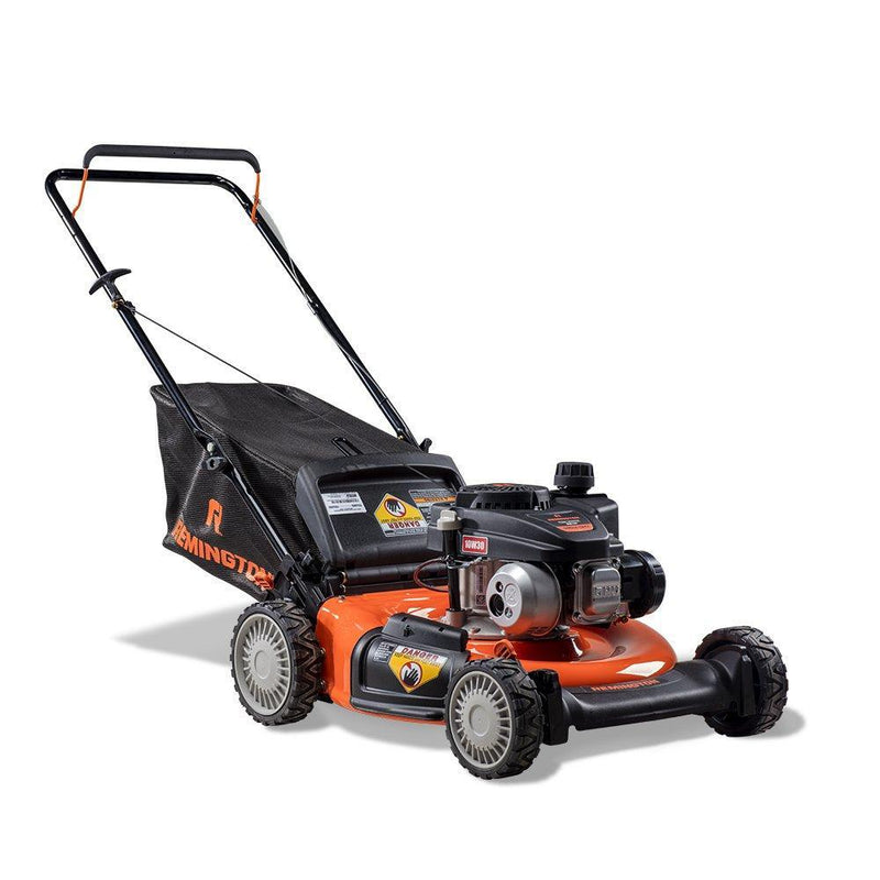 Remington RM130 Trail Blazer 140cc 21-Inch 3-in-1 Gas Push Lawn Mower