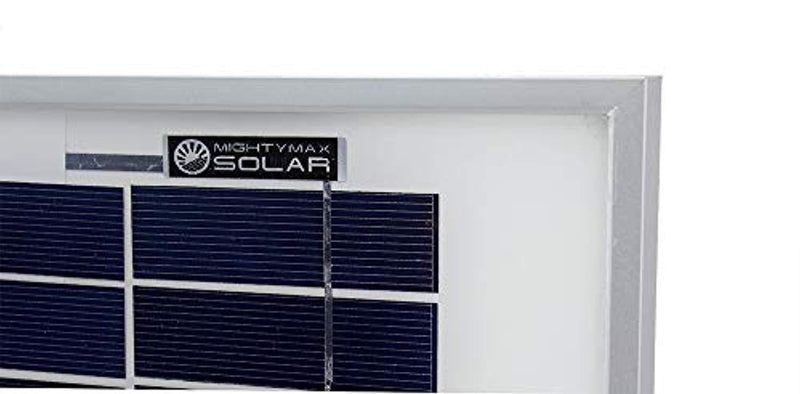Mighty Max Battery 10 Watt Polycrystalline Solar Panel Charger Deep Cycle Battery Brand Product