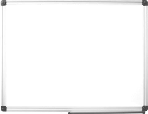 Magnetic White Board 36x48 Premium Dry Erase Vertical/Horizontal Mount Whiteboard w/Marker Tray