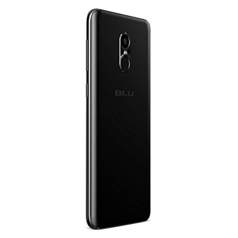 "BLU Pure View -32GB +3GB RAM, 5.7"" HD+ 18:9 Display Smartphone with Dual Front Selfie Cameras -Black"