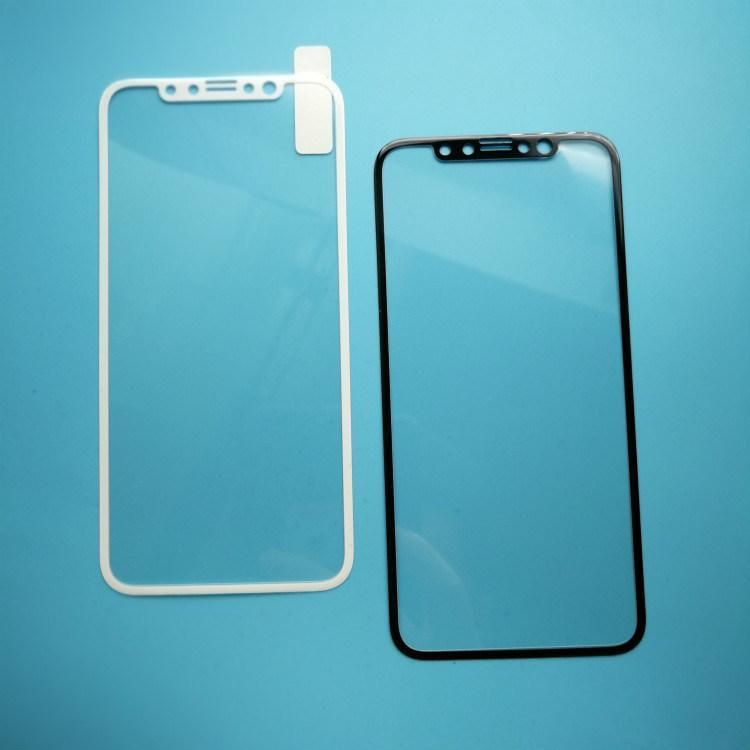 3D Curved 9h/9d Cell Phone Tempered Glass Screen Protector for iPhone