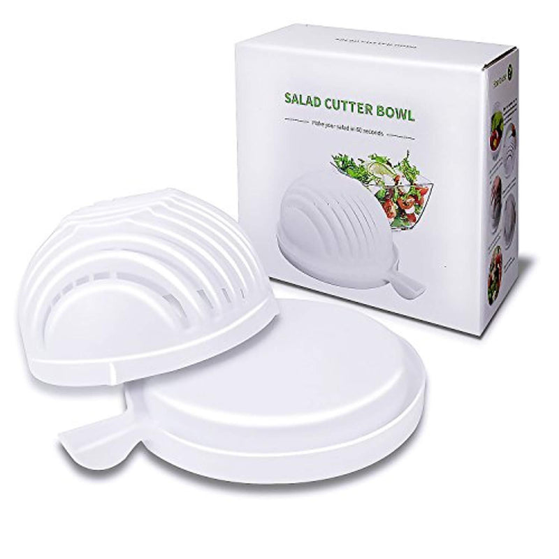 LH Salad Cutter Bowl 60 Seconds Salad Maker Fruit Vegetable Bowl , Make of Food Grade ABS Plastic.60 Seconds Salad Maker Vegetable Maker Salad Cutter Salad Chopper Salad Spinner