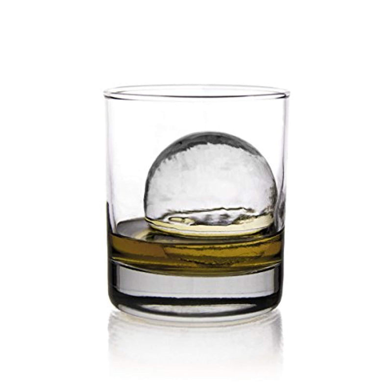 glacio Clear Sphere Duo | Crystal Clear Ice Ball Maker