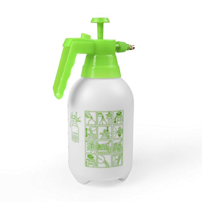 Planted Perfect Hand Pump Garden Sprayer - Handheld Pressure Sprayers Sprays Water, Chemicals, Pesticides, Neem Oil and Weeds - Perfect Lightweight Water Mister, Lawn Sprayer Combo - EBOOK BUNDLE (2L)