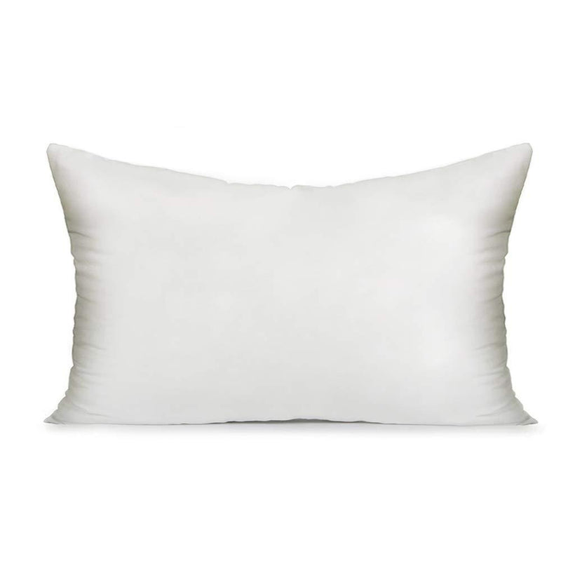 MIULEE 12x20 Pillow Inserts Soft Square Throw Pillow Form Inserts Premium White Sham Stuffer