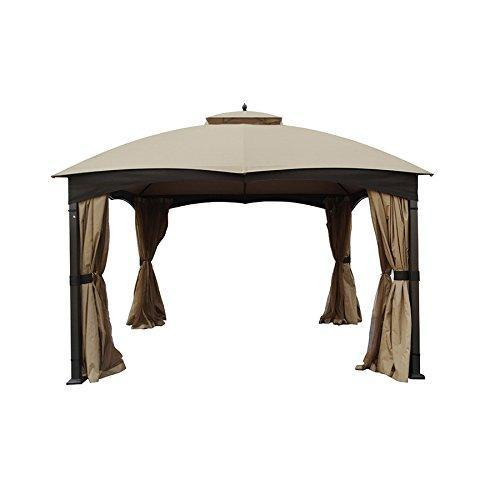 APEX GARDEN Replacement Canopy Top for Allen + roth 10-ft x 12-ft Gazebo
