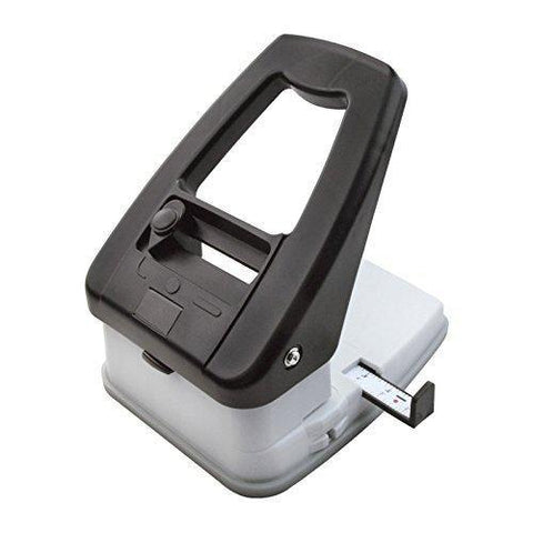 3-in-1 ID Badge Slot Punch for ID Cards (Works with All PVC Cards and ID Card Printers) (Black, 3 in One)