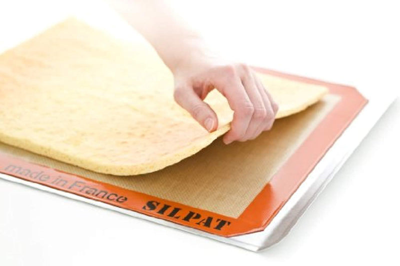 "Silpat Premium Silicone Baking Mat, Half Sheet Size, 11-5/8"" x 16-1/2"" (Pack of 2) Non Stick"