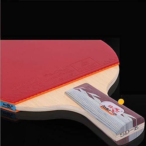 SSHHI Ping Pong Paddle,7 Layers of Wood,Home-Table Tennis Paddle,Comfortable Grip,Durable/As Shown/B