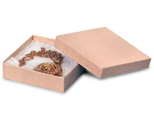The Packaging Trust Kraft Jewelry Boxes, 100 Boxes