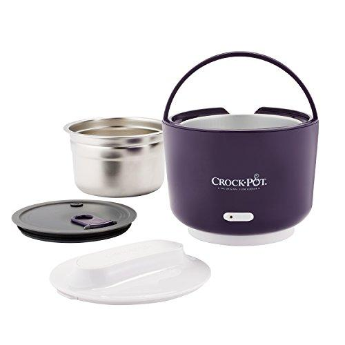 Crockpot 24-Ounce Lunch Crock Food Warmer, Deluxe Edition, Blue