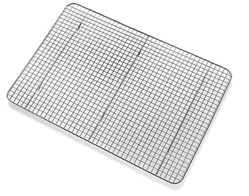 Bellemain Cooling Rack - Baking Rack, Chef Quality 12 inch x 17 inch - Tight-Grid Design, Oven Safe, Fits Half Sheet Cookie Pan