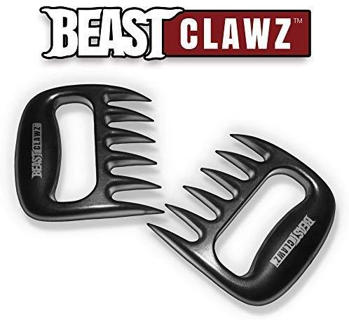 Grill Beast Pulled Pork Shredder Claws - Meat SHREDDING Forks - BBQ Grilling Accessories
