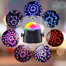 Luditek Partylights Discoball 360 °Rotatable Discolights Sound Activated Remote Control Dj Lighting [Newest 2020]7 Color Patternes+3 Lightning Mode+6 Colours for All Parties, Wedding, DJ and More