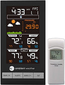 Ambient Weather WS-2800 Advanced Wireless Color Forecast Station with Temperature, Humidity and Barometer