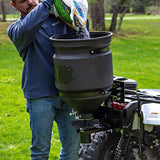 Buyers Products ATVS15A ATV All Purpose Broadcast Spreader 15 Gallon Capacity Black