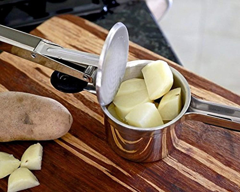PriorityChef Potato Ricer and Masher, Makes Light and Fluffy Mashed Potato Perfection, 100% Stainless Steel