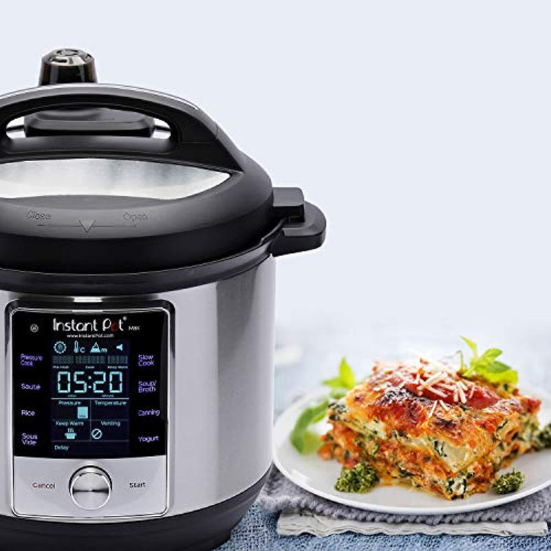 Instant Pot 60 Max 6 Quart Electric Pressure Cooker, Silver