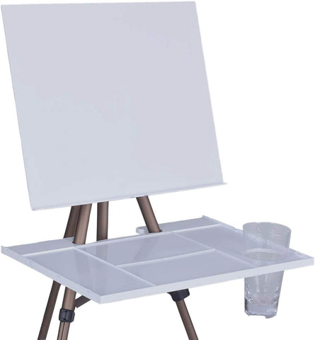 MEEDEN Artist Watercolor Field Easel Portable Easel, Lightweight Field Easel 17 to 65 Inch for Watercolors, Sturdy Tripod for Tabletop/Floor Painting, Drawing and Display