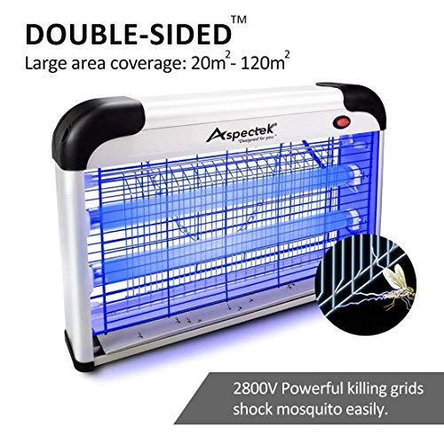ASPECTEK ZR2PH301-20 Upgraded 20W Electronic Bug Zapper, Insect Killer-Mosquito